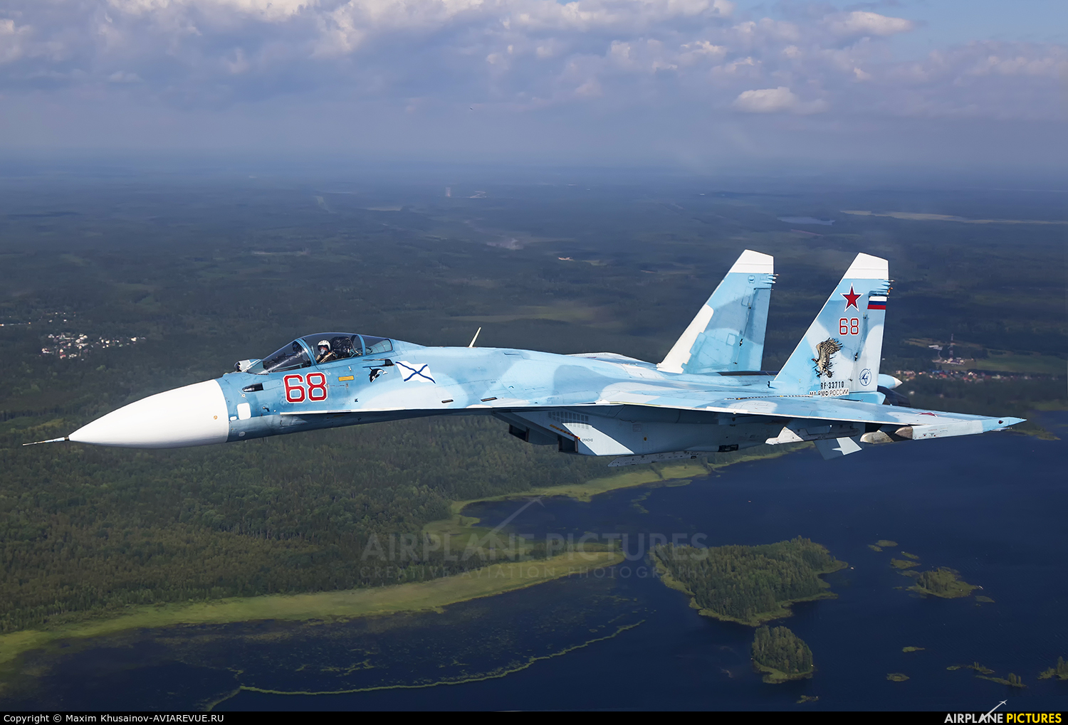 Russia - Navy RF-33710 aircraft at In Flight - Russia