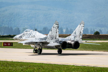 0619 - Slovakia -  Air Force Mikoyan-Gurevich MiG-29AS