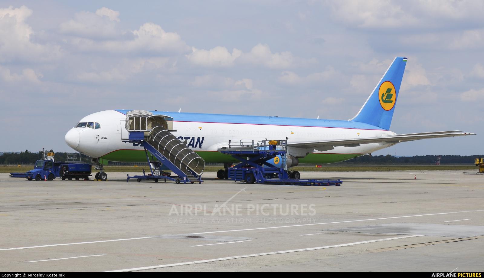 Uzbekistan Airways Boeing 767-300ER At Ostrava
