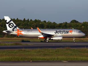 JA17JJ - Jetstar Japan Airbus A320