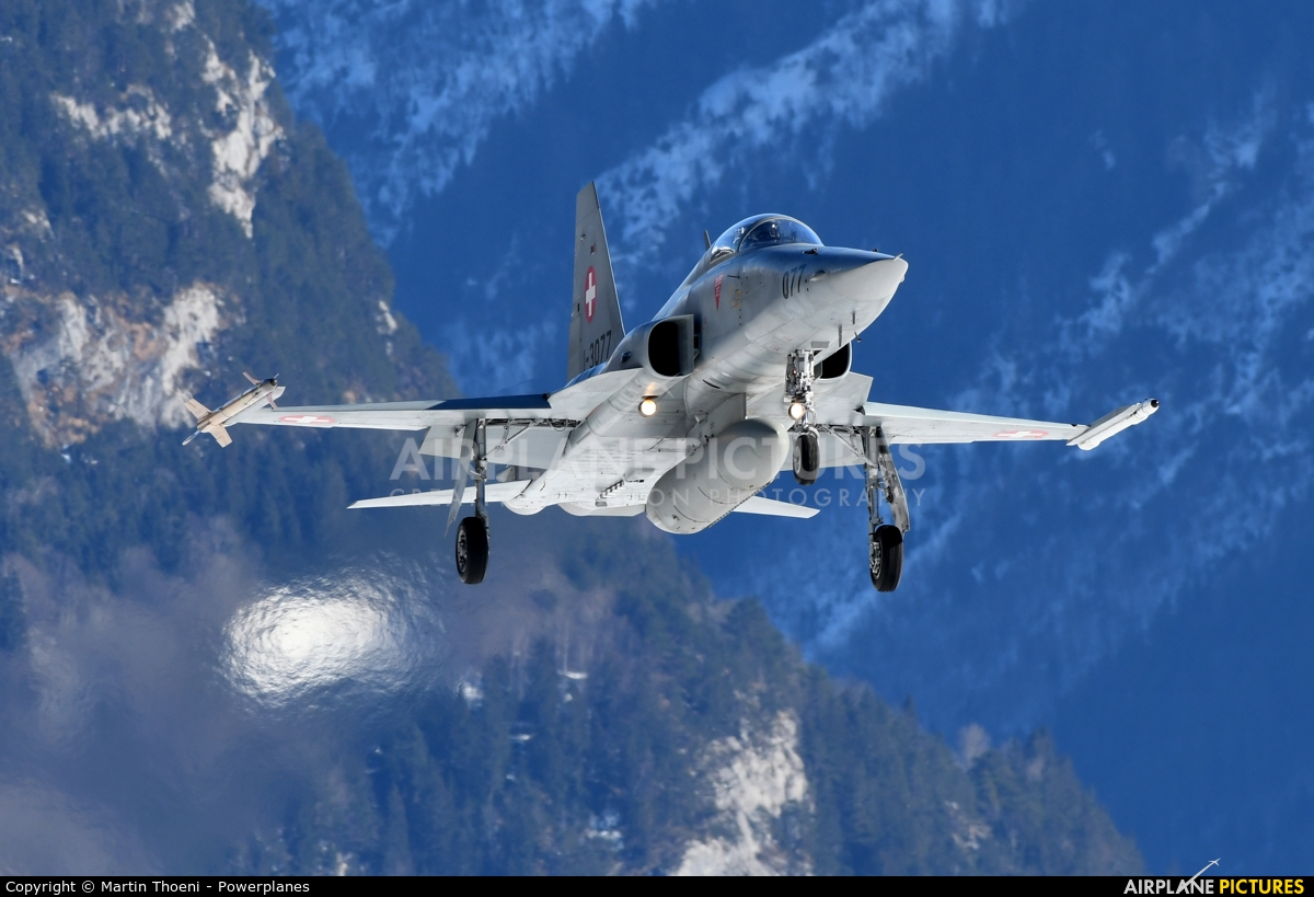 Switzerland - Air Force J-3077 aircraft at Meiringen