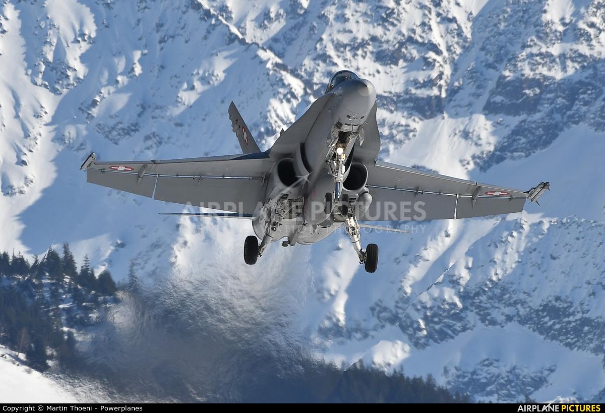 Switzerland - Air Force J-5023 aircraft at Meiringen