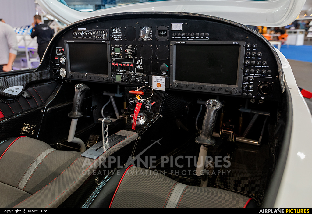 Private HA-BHX aircraft at Friedrichshafen