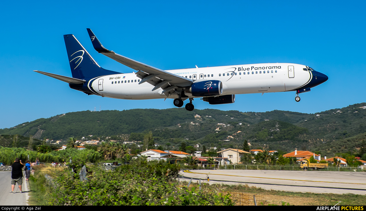 Blue Panorama Airlines 9H-CRI aircraft at Skiathos