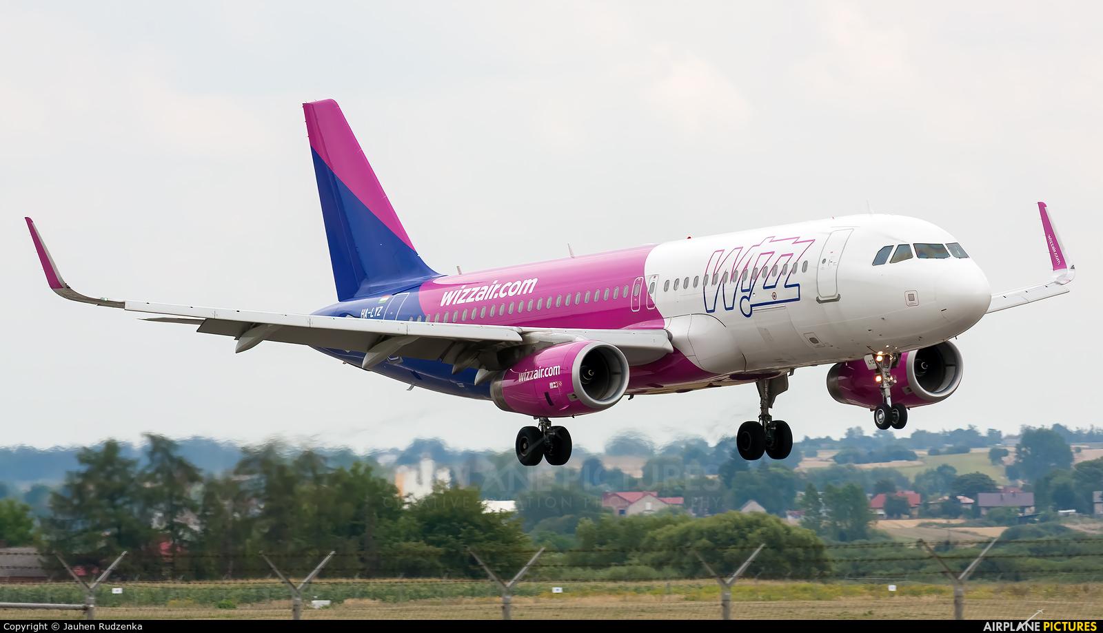 Wizz Air HA-LYZ aircraft at Lublin