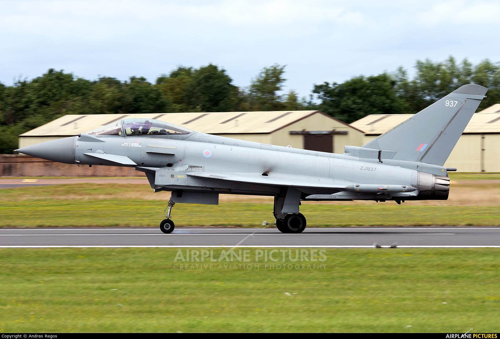 Royal Air Force ZJ937 aircraft at Fairford