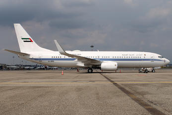 A6-MRS - United Arab Emirates - Government Boeing 737-800 BBJ