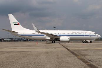 A6-MRS - United Arab Emirates - Government Boeing 737-800 BBJ