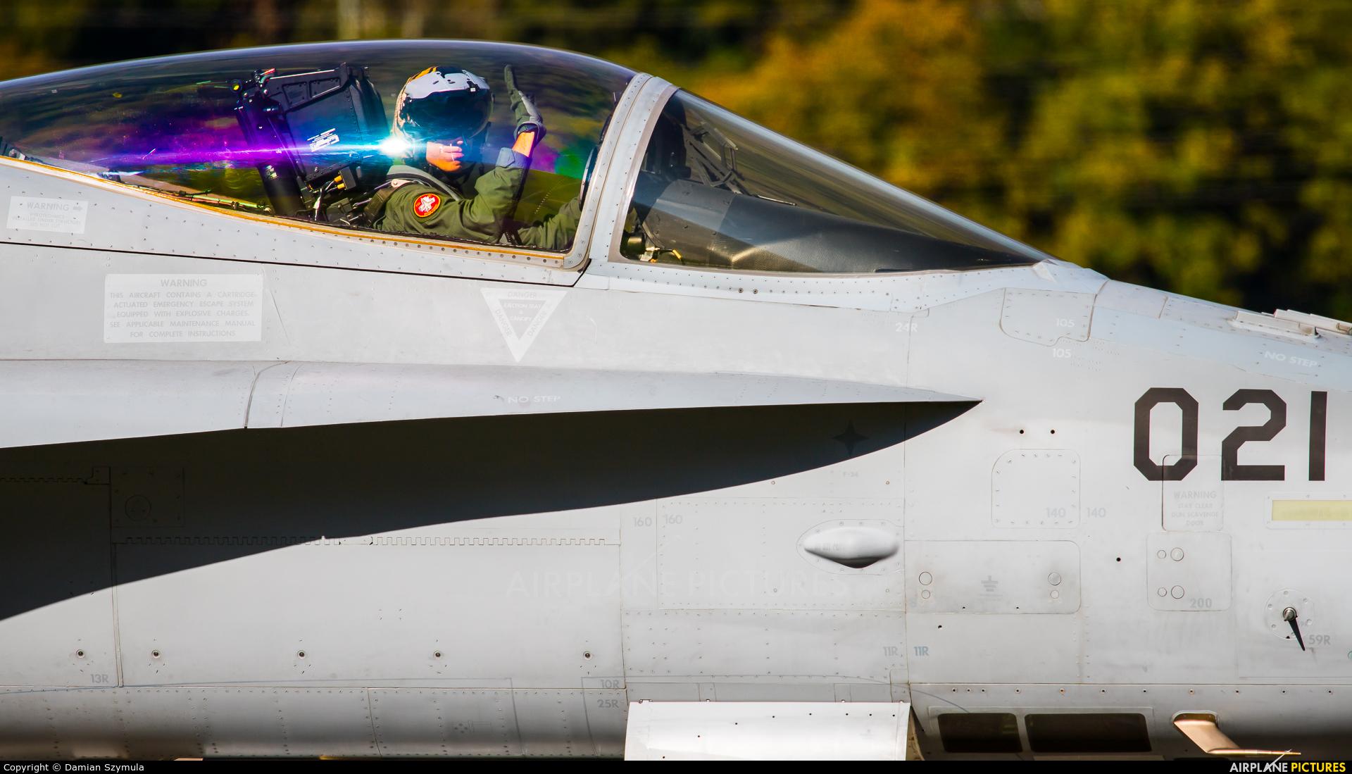 Switzerland - Air Force J-5021 aircraft at Meiringen