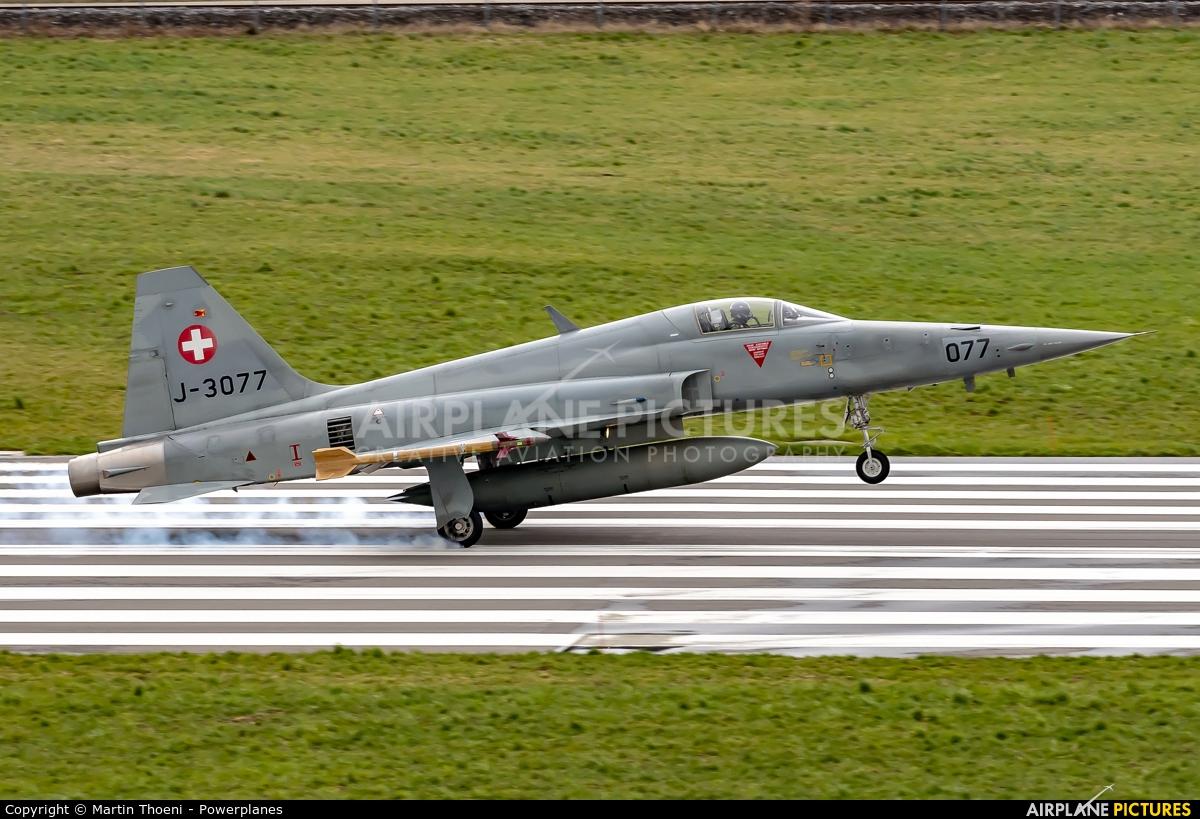 Switzerland - Air Force J-3077 aircraft at Emmen