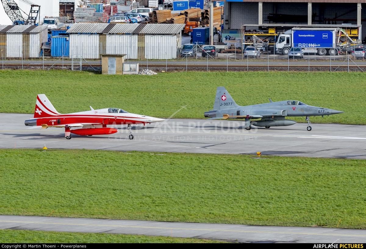 Switzerland - Air Force J-3089 aircraft at Emmen