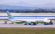 UK67002 - Uzbekistan Airways Boeing 767-300ER aircraft