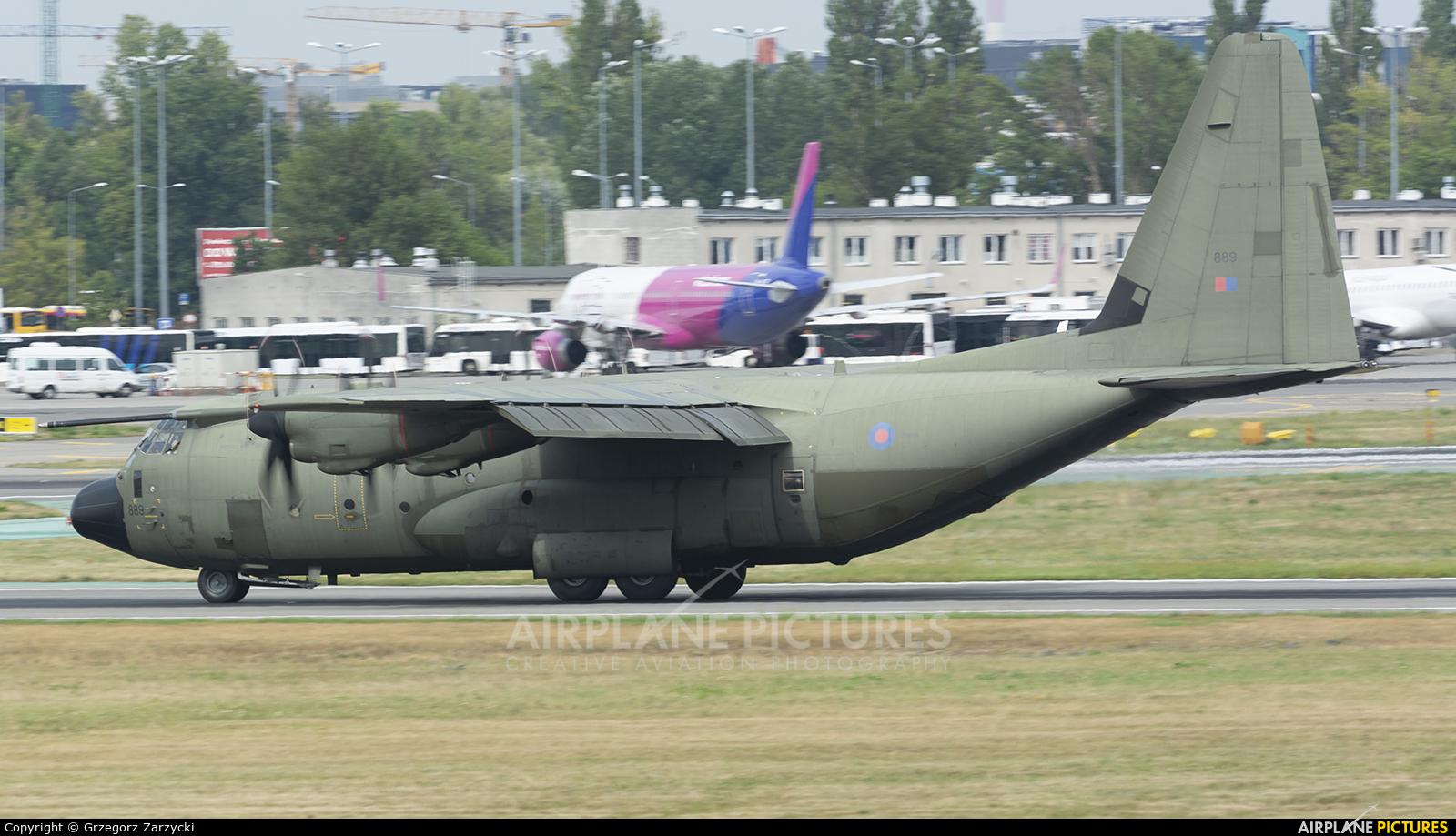 Royal Air Force ZH889 aircraft at Warsaw - Frederic Chopin