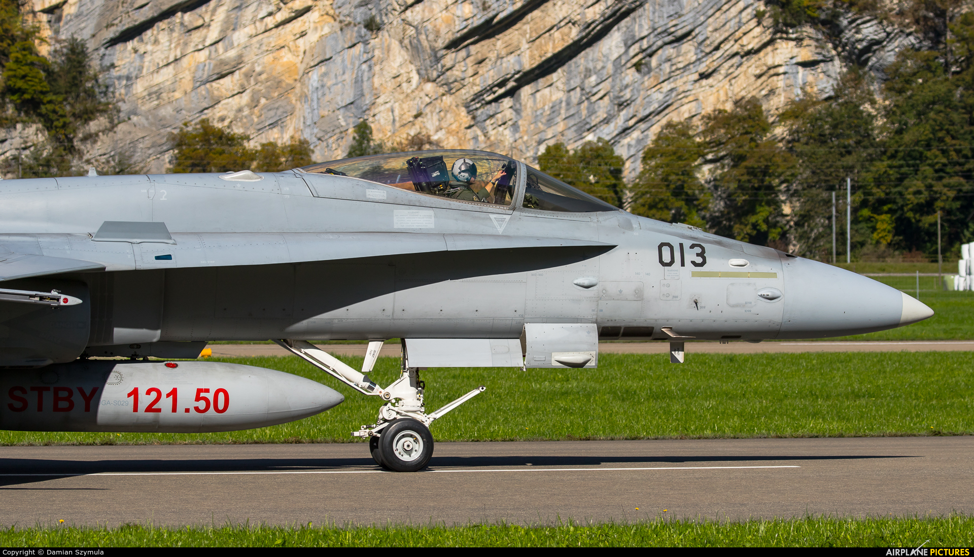 Switzerland - Air Force J-5013 aircraft at Meiringen