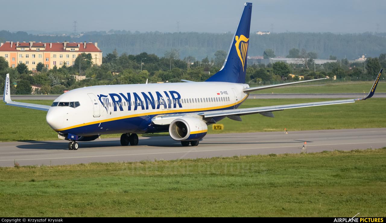 Ryanair Sun SP-RSE aircraft at Gdańsk - Lech Wałęsa