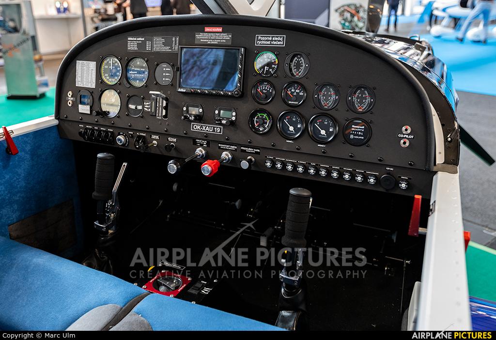 Private OK-XAU19 aircraft at Friedrichshafen