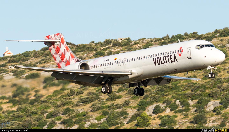 Volotea Airlines EI-EXB aircraft at Split - Kaštela