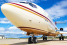Rare visit of Boeing 727 to Logroño–Agoncillo