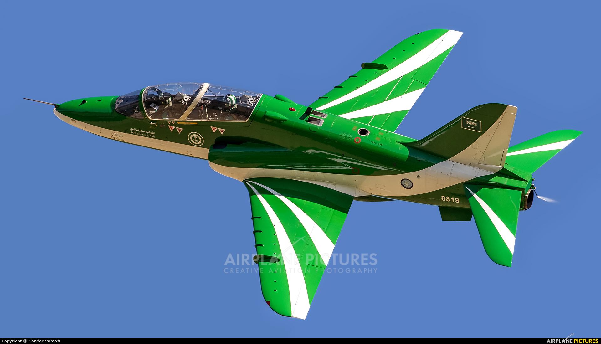 Saudi Arabia - Air Force: Saudi Hawks 8819 aircraft at Ostrava Mošnov