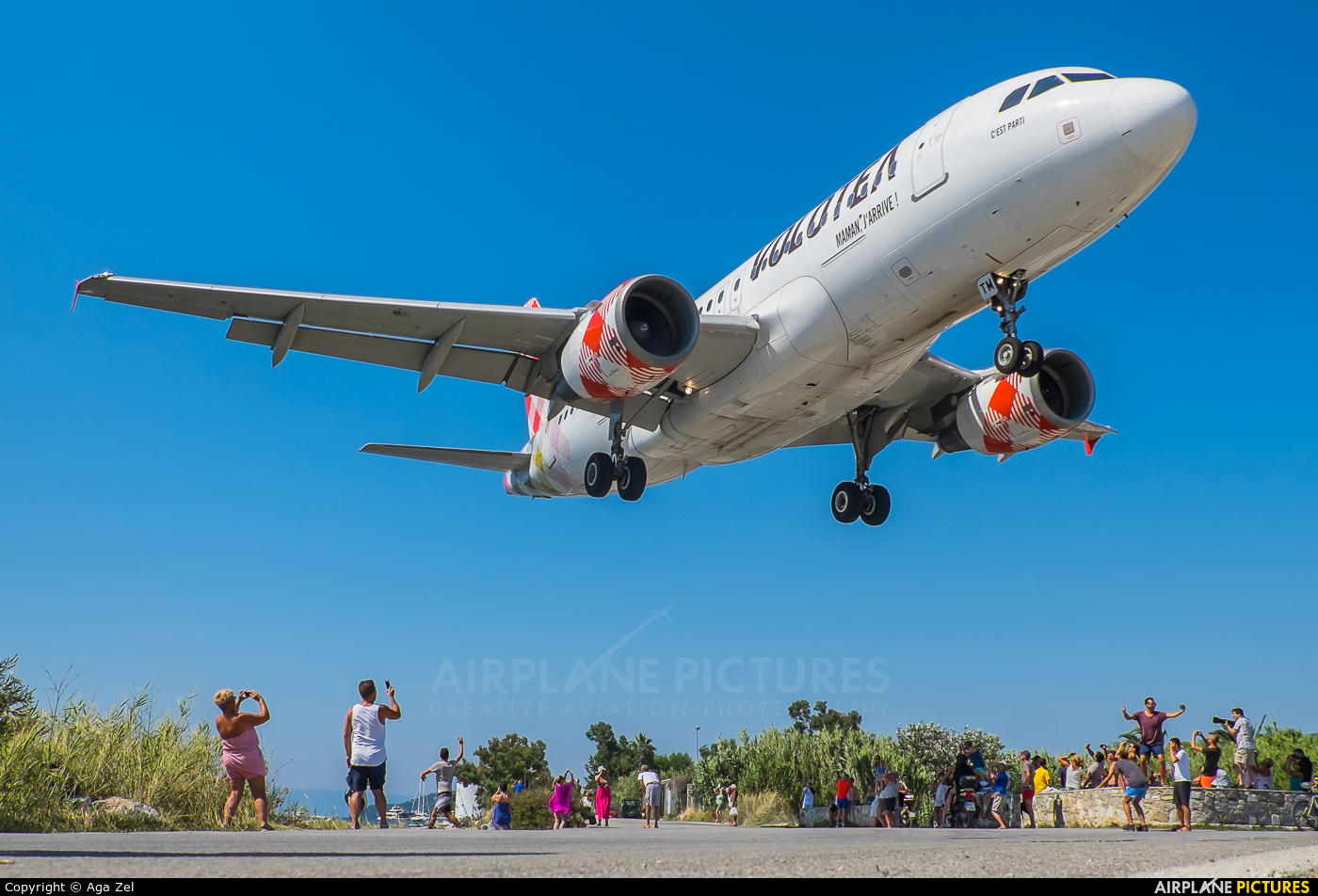 Volotea Airlines EC-MTM aircraft at Skiathos
