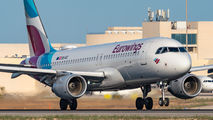 OE-IQC - Eurowings Europe Airbus A320 aircraft