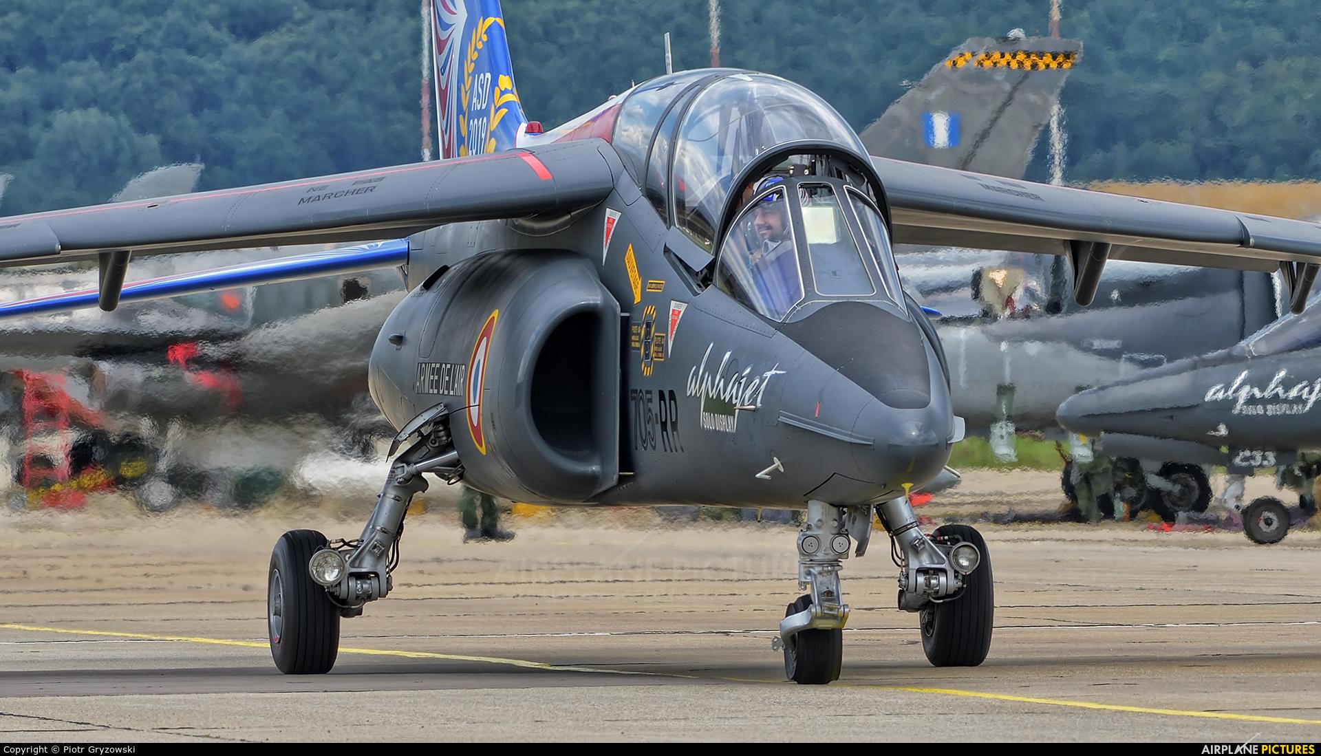 France - Air Force E114 aircraft at Sliač