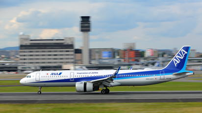 JA133A - ANA - All Nippon Airways Airbus A321 NEO