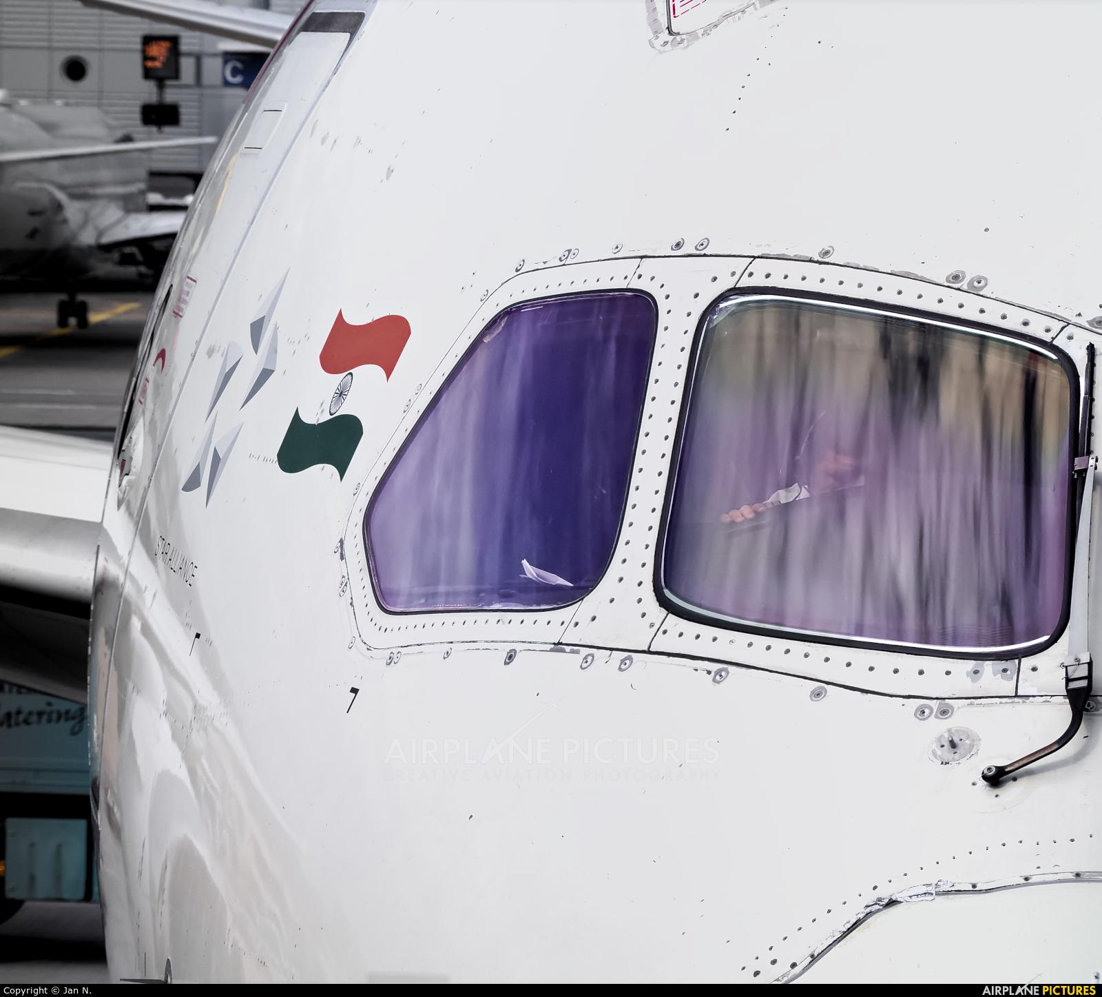 Air India VT-ANL aircraft at Frankfurt