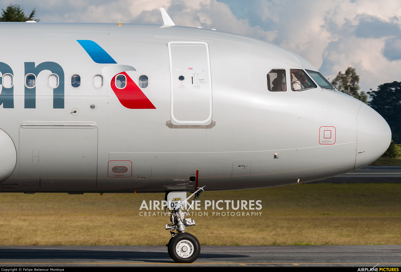 American Airlines N12028 aircraft at Medellin - Jose Maria Cordova Intl