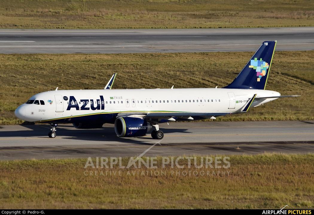 Azul Linhas Aéreas PR-YYB aircraft at São Paulo - Guarulhos