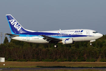JA356K - ANA Wings Boeing 737-500