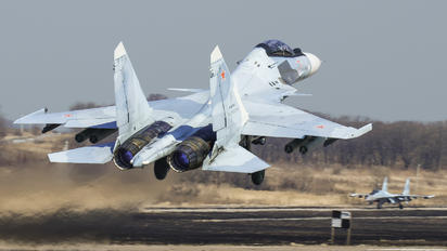 RF-92740 - Russia - Air Force Sukhoi Su-30SM