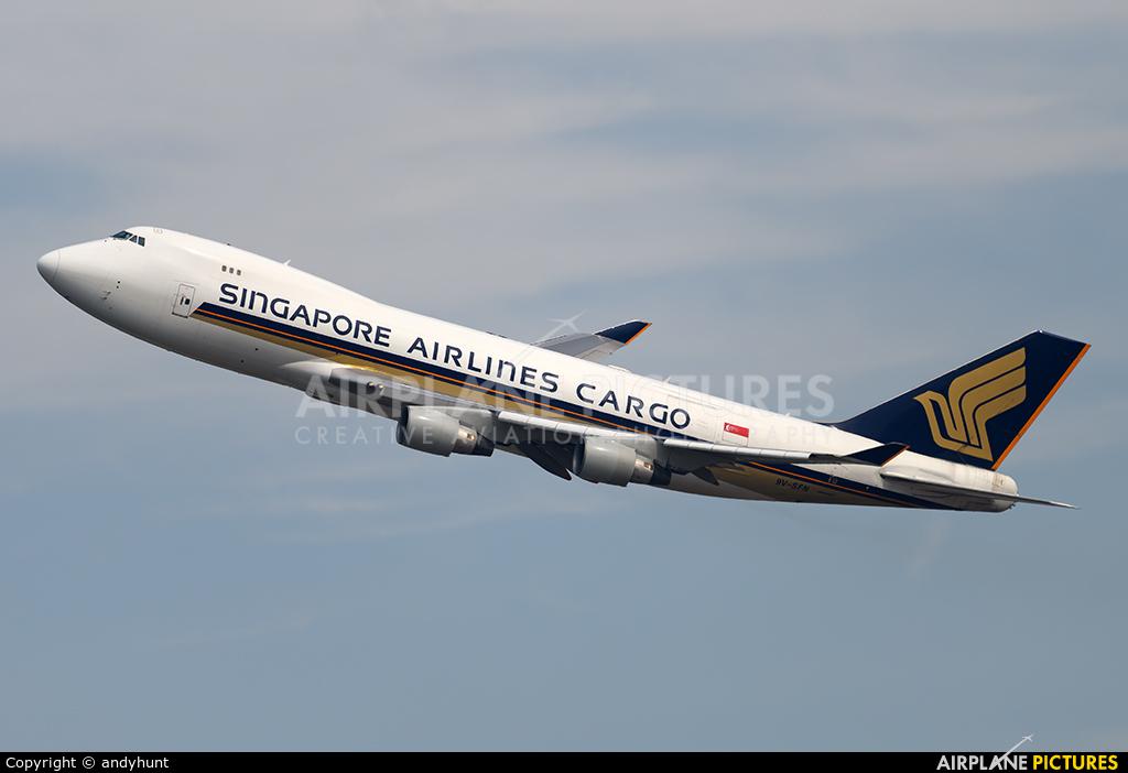 Singapore Airlines Cargo 9V-SFN aircraft at Singapore - Changi