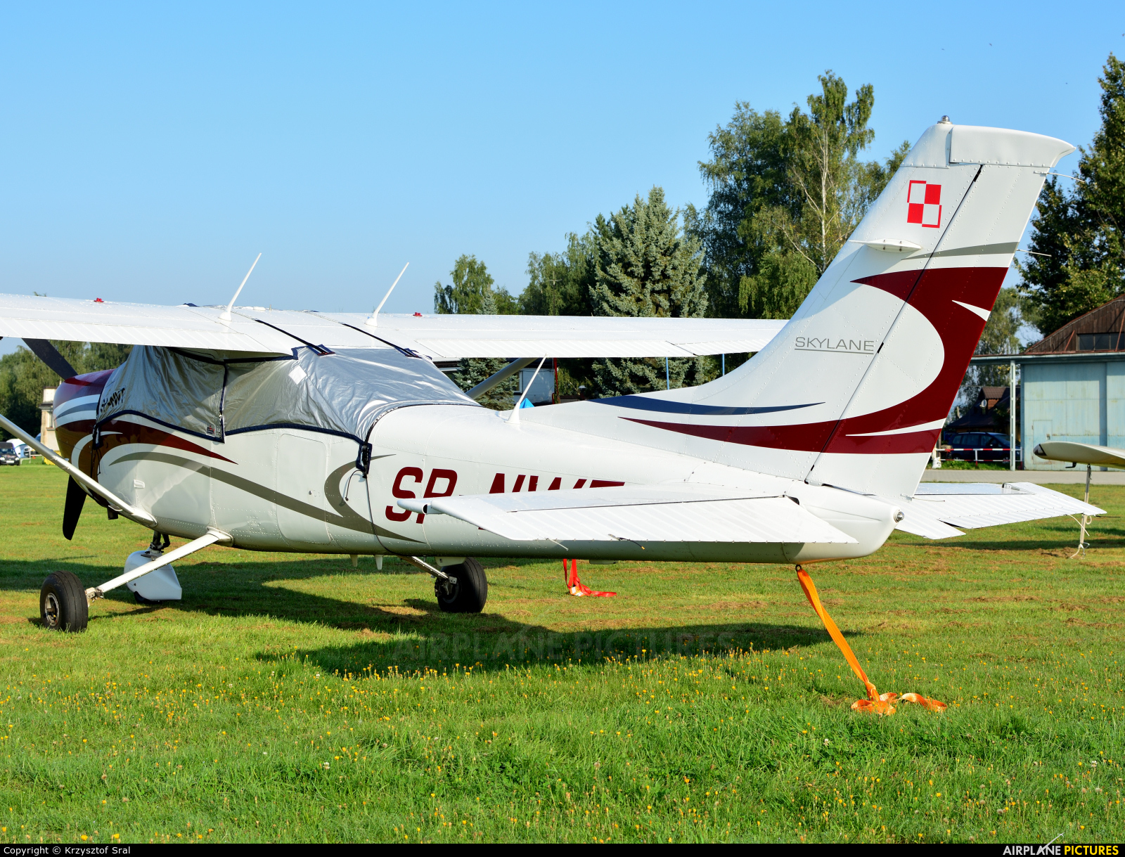 Private SP-NWT aircraft at Nowy Targ