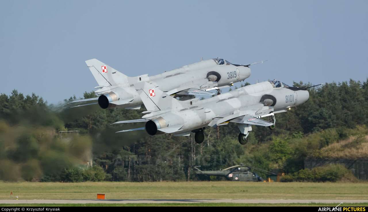 Poland - Air Force 8101 aircraft at Mirosławiec
