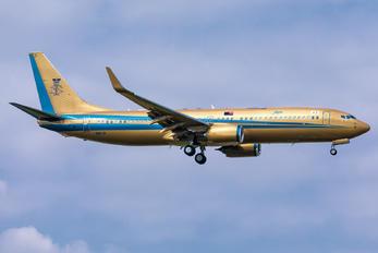 9M-III - Sultan of Johor Boeing 737-800 BBJ