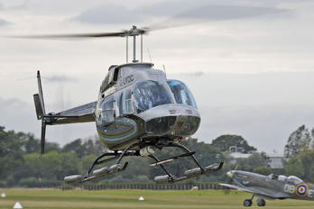G-LVDC - Flying with Spitfires Bell 206L Longranger