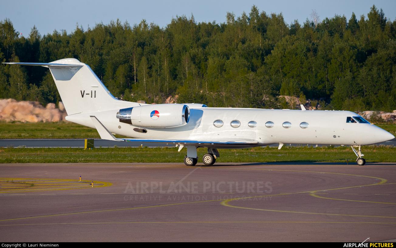 Netherlands - Air Force V-11 aircraft at Helsinki - Vantaa