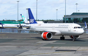 EI-SII - SAS - Scandinavian Airlines Airbus A320 NEO