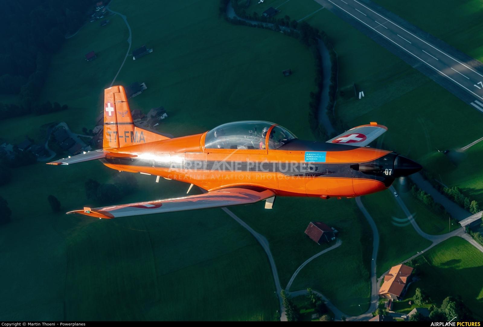 FFA Museum T7-FMA aircraft at St. Stephan