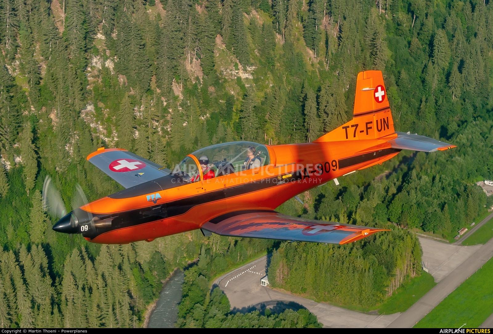 FFA Museum T7-FUN aircraft at St. Stephan