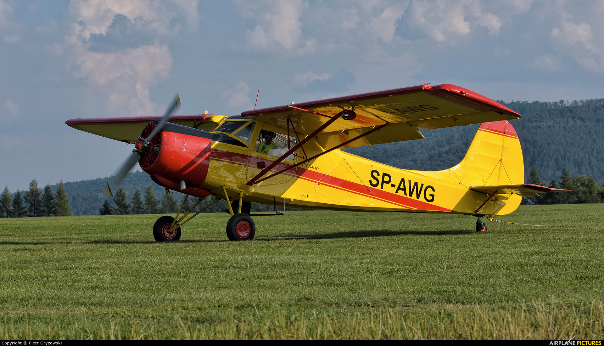 Private SP-AWG aircraft at Bielsko-Biała - Aleksandrowice