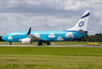 4X-EKO - El Al Israel Airlines Boeing 737-800