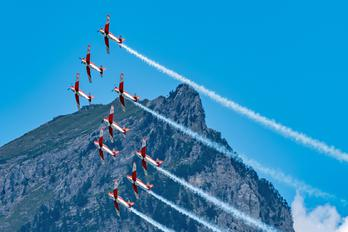 A-938 - Switzerland - Air Force: PC-7 Team Pilatus PC-7 I & II
