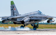 24 - Russia - Air Force Sukhoi Su-25SM aircraft