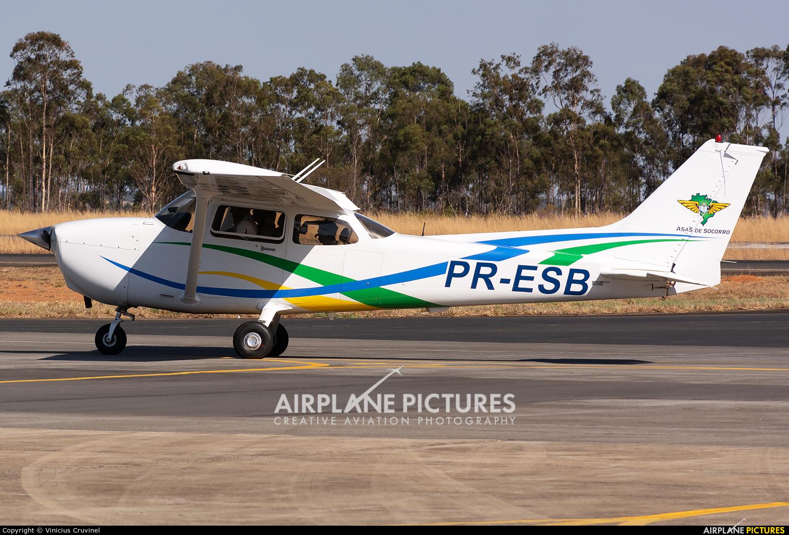 Private PR-ESB aircraft at Anápolis AFB