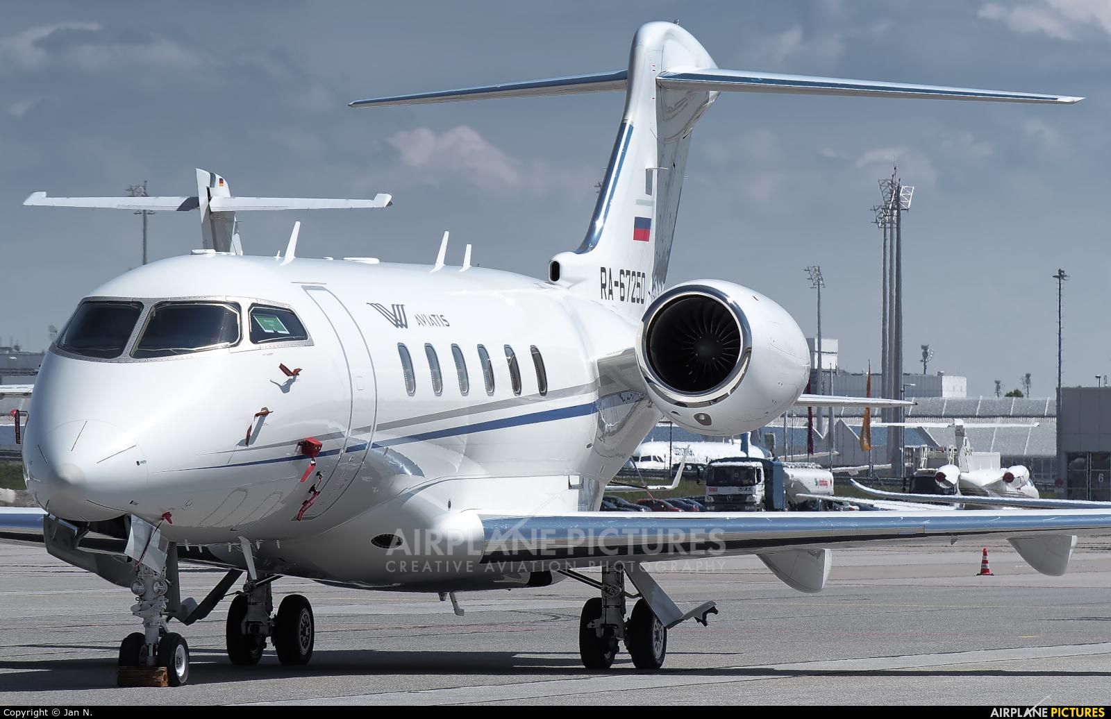 Aviatis RA-67250 aircraft at Munich