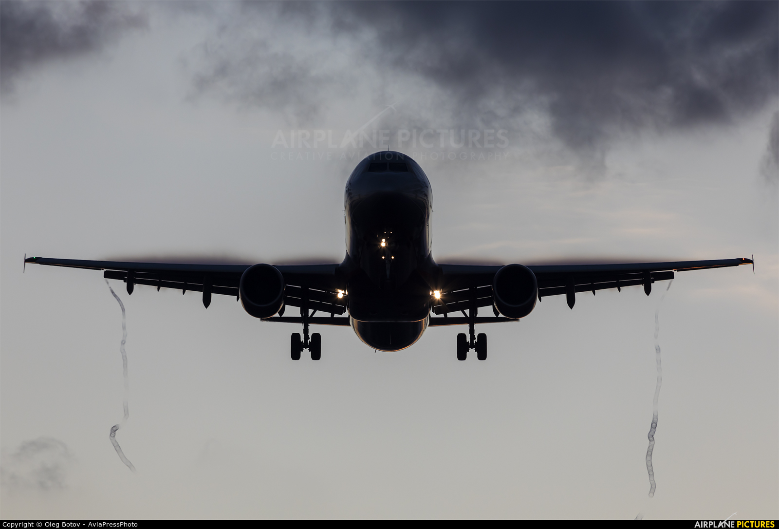 Aeroflot VP-BOE aircraft at Moscow - Sheremetyevo