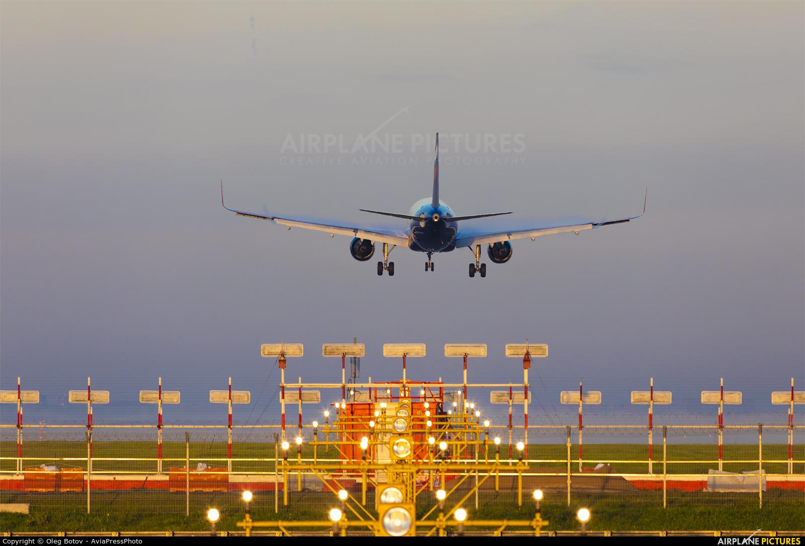 Aeroflot VP-BEO aircraft at Moscow - Sheremetyevo
