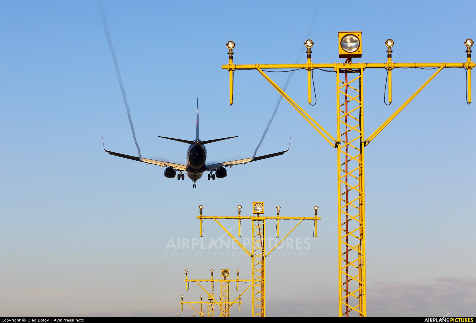 Aeroflot VP-BKN aircraft at Moscow - Sheremetyevo